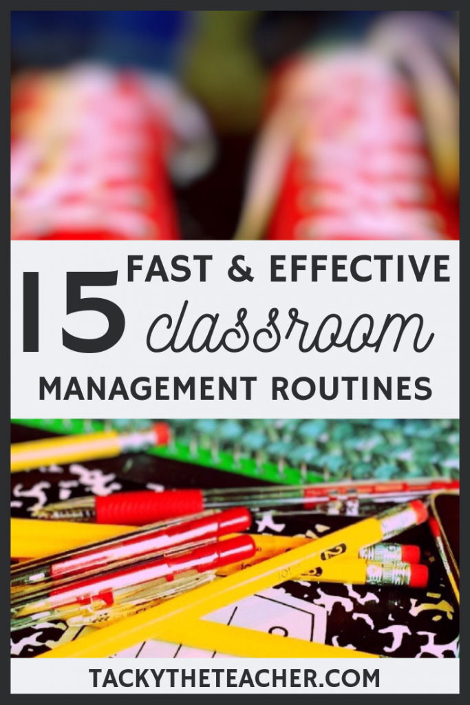 Classroom Management Routines and Strategies to Implement When You're Feeling Worn Down to Gain Control of Your Classroom Again