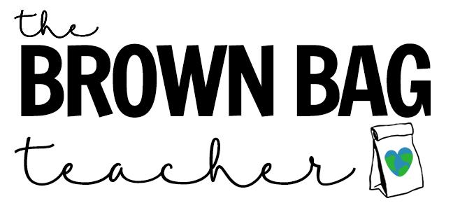 brown bag - teacher - 1st grade - elementary - science - art - ELA - top teacher blogs