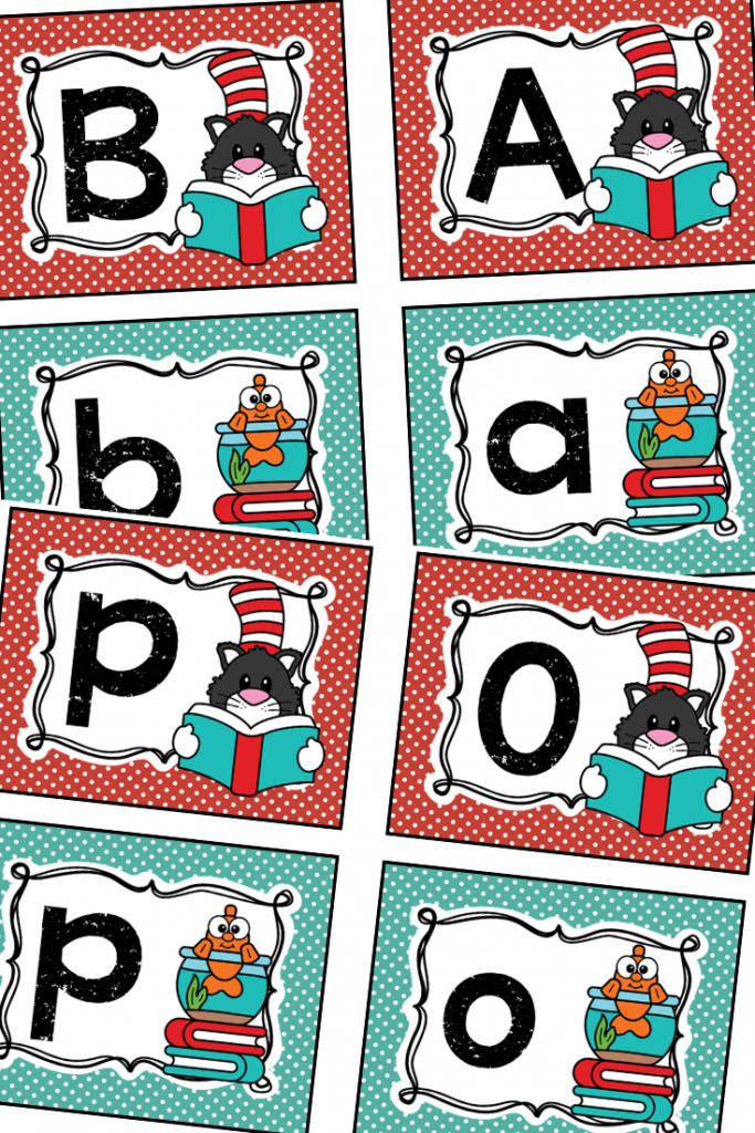 Uppercase and Lowercase Letter Match and 7+ Other Literacy Activities for Dr. Seuss's ABC Book