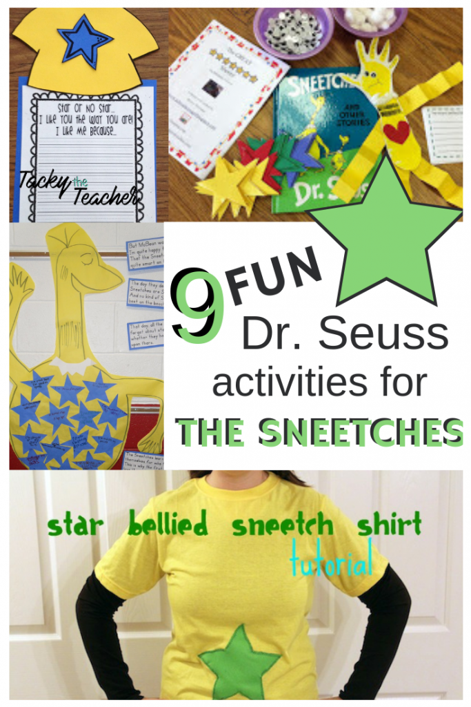 9 FUN Dr. Seuss Star Bellied Sneetches Activties for the Early Childhood Classroom (K-2)
