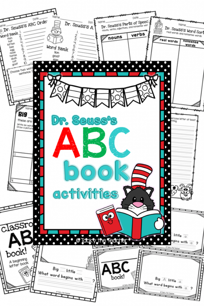 7+ Literacy Activities for Dr. Seuss's ABC Book