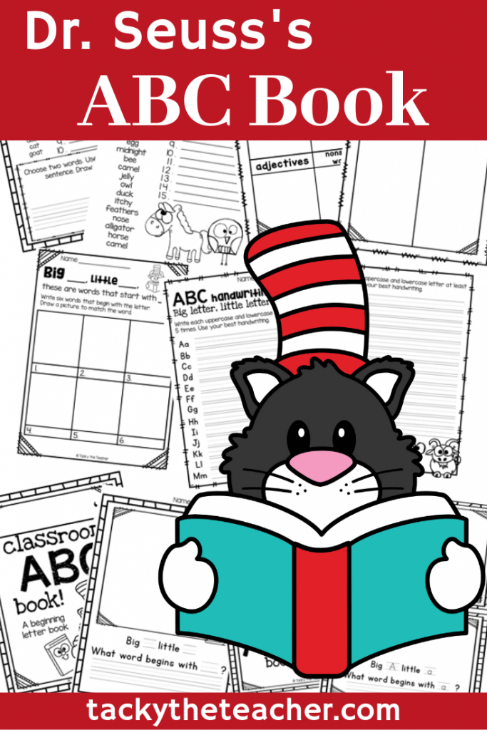 9+ Literacy Activities for Dr. Seuss's ABC Book