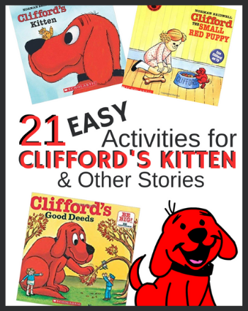 21 Activities for Clifford's Kitten & Other Stories
