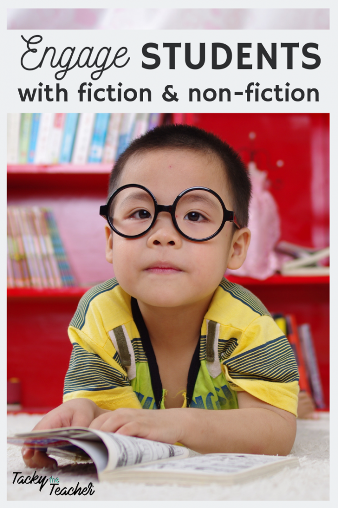 How to Engage Students through Pairing Fiction and Non-fiction Text while Teaching a Joy for Reading and Increasing Student Learning