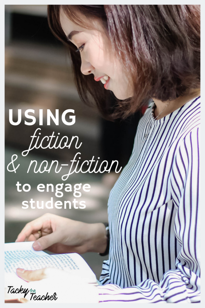 Using Fiction and Non-fiction Text to Engage Students and to Increase Learning Outcomes