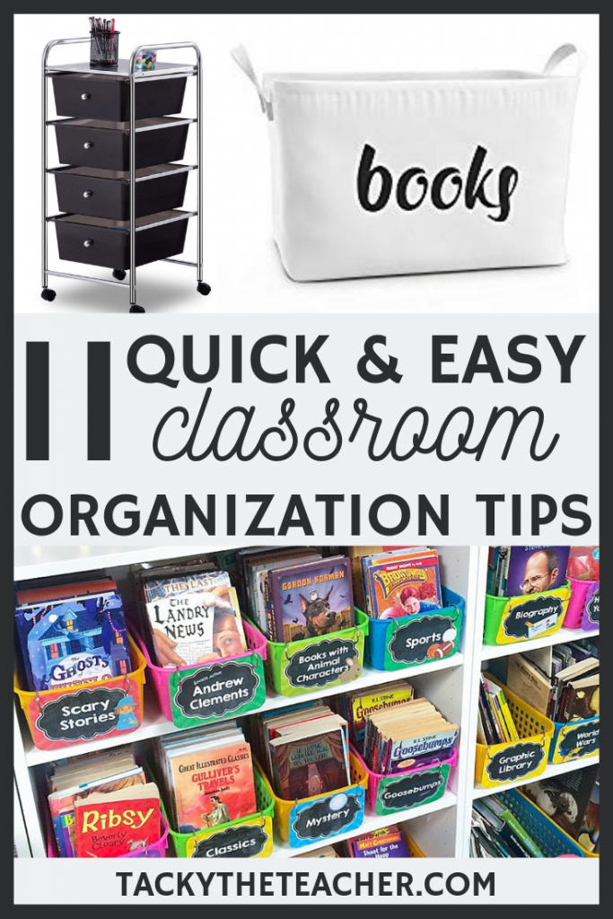 11 Quick & Easy Classroom Organization Tips and Tricks for Teachers