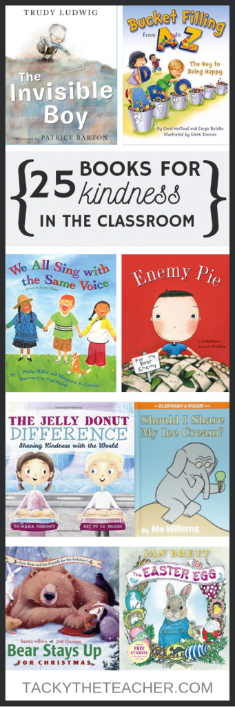 25 Books that Teach Kindness in the Classroom