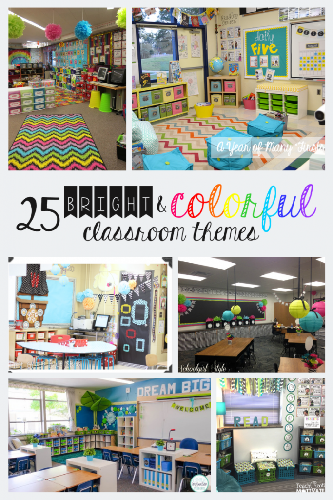 25 Bright and Colorful Classroom Themes to Create a Warm and Inviting Environment