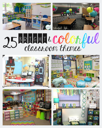 Bright and Colorful Classroom Themes to Decorate Your Classroom