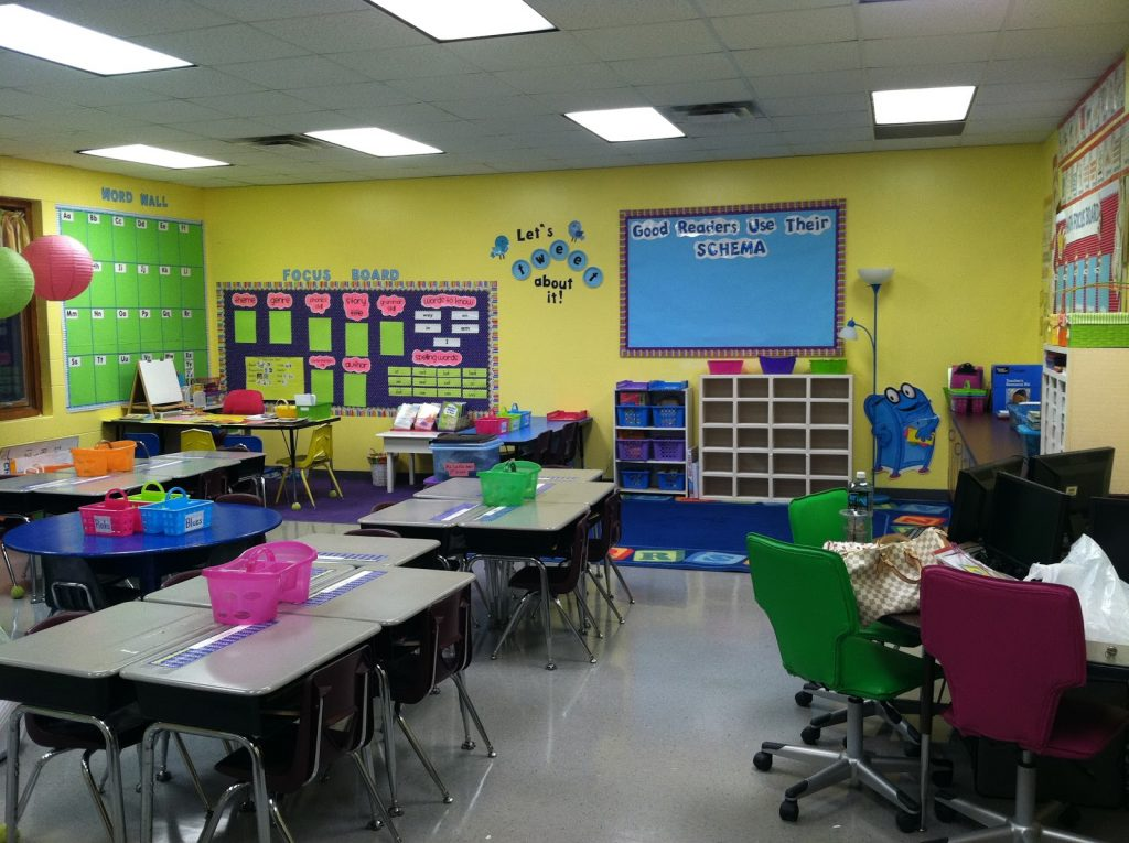Sunny Yellow for Bright Classroom Decor