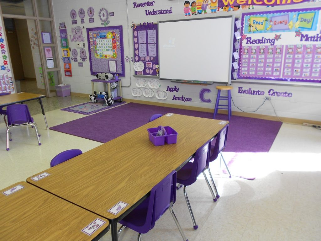 Nothing But Purple in this Classroom