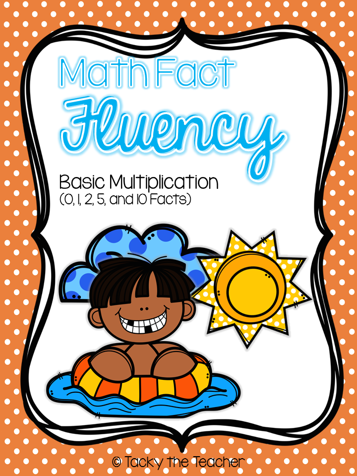 Summer Math Fact Fluency