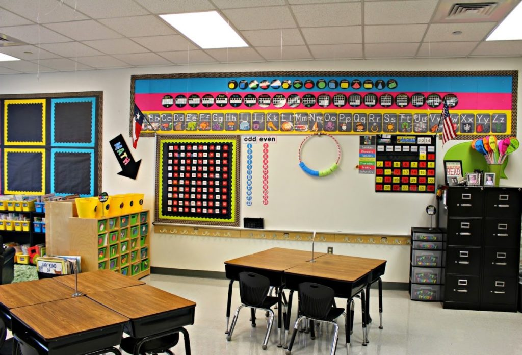 Bright and Colorful Bulletin Boards