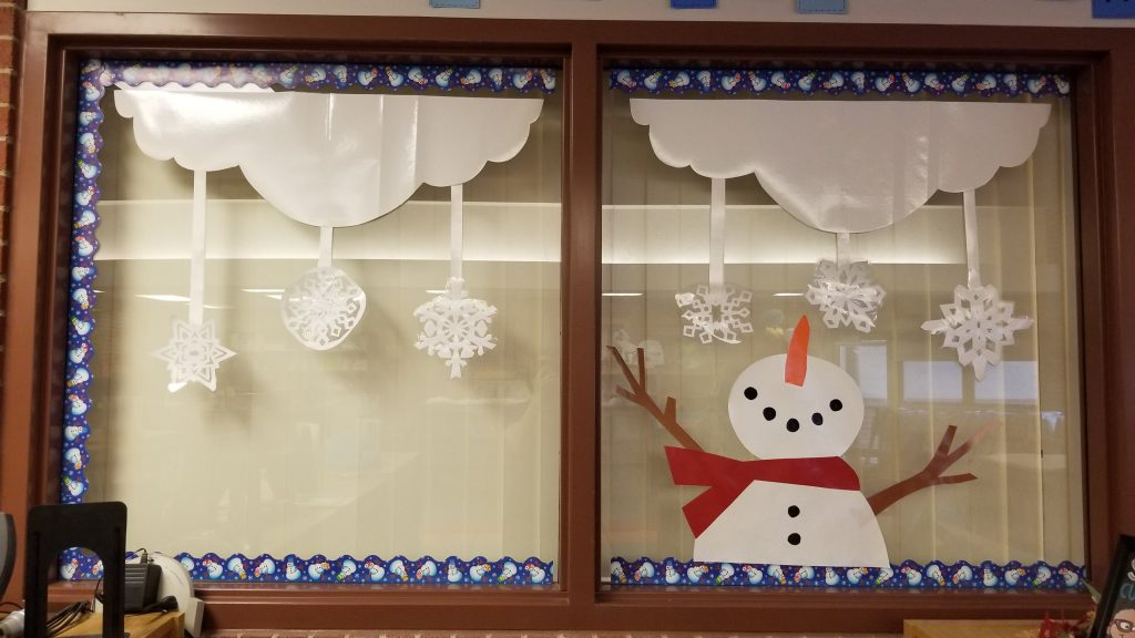 Learning is snow much fun bulletin board