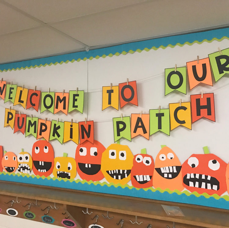 Welcome to Our Pumpkin Patch - Fall Bulletin Board Ideas