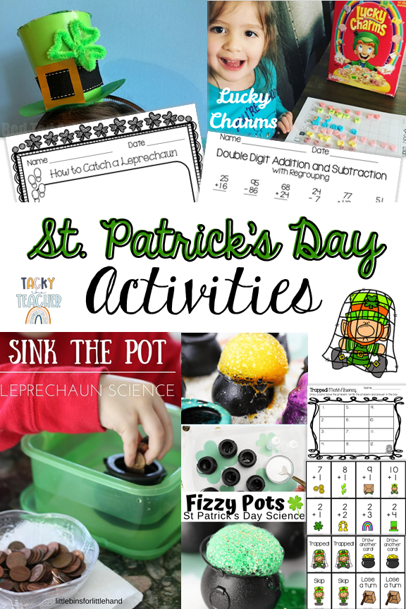 St. Patrick's Day Activities Students Will Love