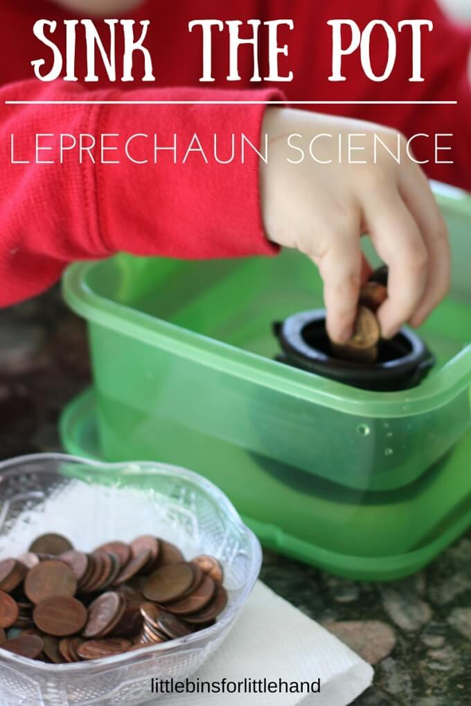 Sink the Pot St. Patrick's Day Activity