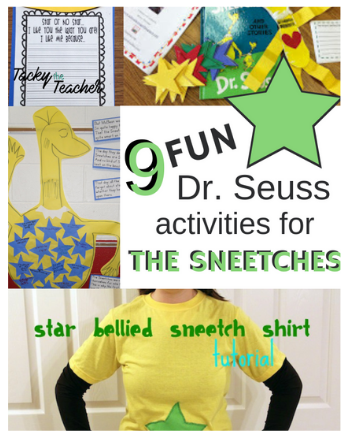9 Fun Dr. Seuss Activities for The Sneetches Book