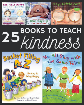 25 Books to Teach Kindness