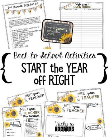 Back to School Activities to Get the Year Started Off Right
